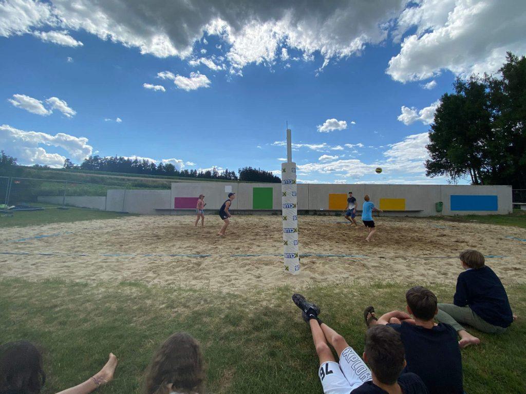 Budo das bunte dorf Volleyball sand projektwochen projekttage schulprojektwochen schullandwochen freiraum sina kienboeck
