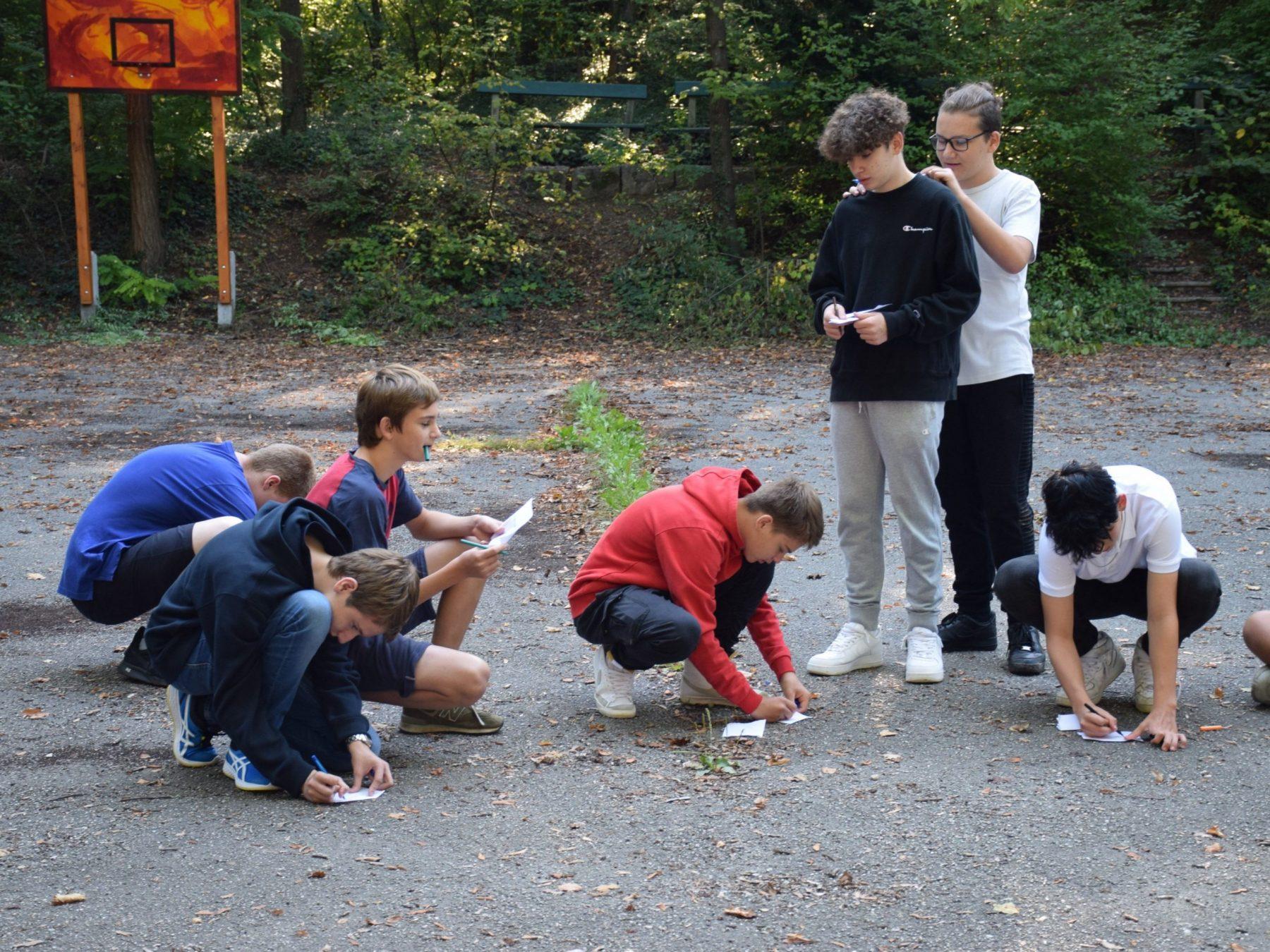 Kennenlerntag Kennenlernen in der Klasse Projekttage Projektwochen Schullandwochen Schulprojektwochen Freispiel Doris Poetscher Hasslinger