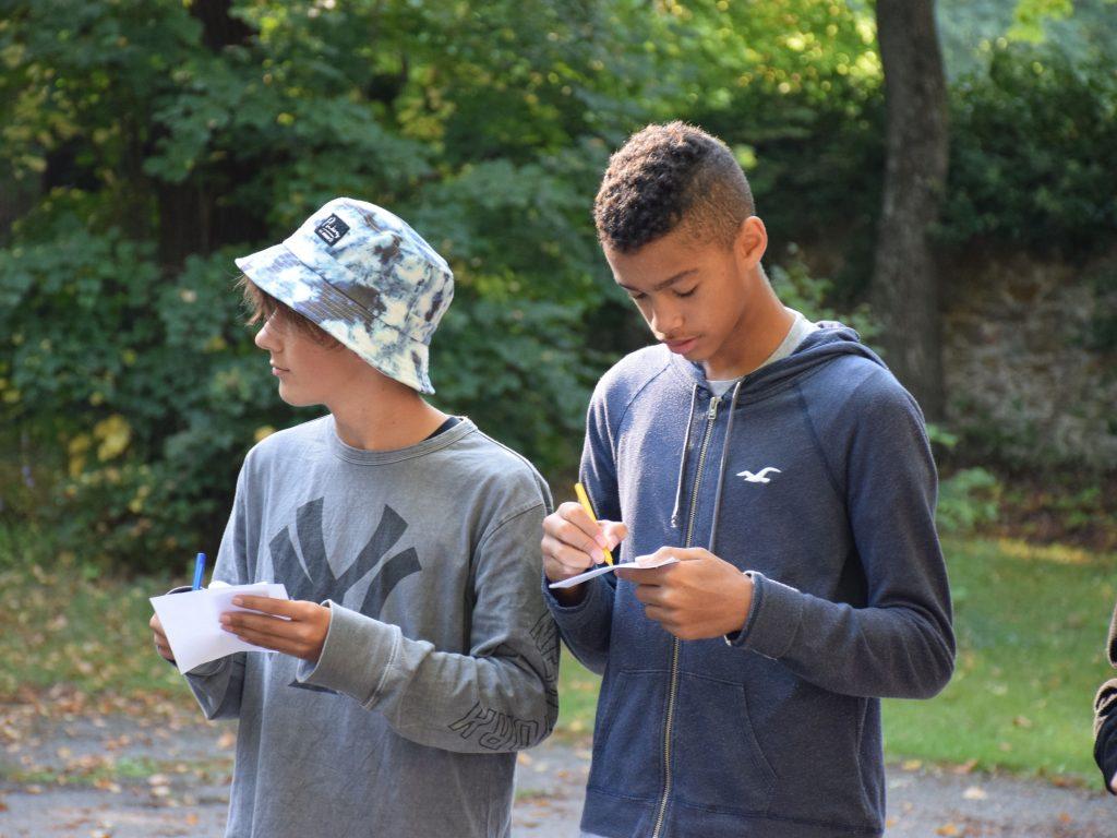 Kennenlerntag Kennenlernspiel Projekttage Projektwochen Schullandwochen Schulprojektwochen Freispiel Doris Poetscher Hasslinger