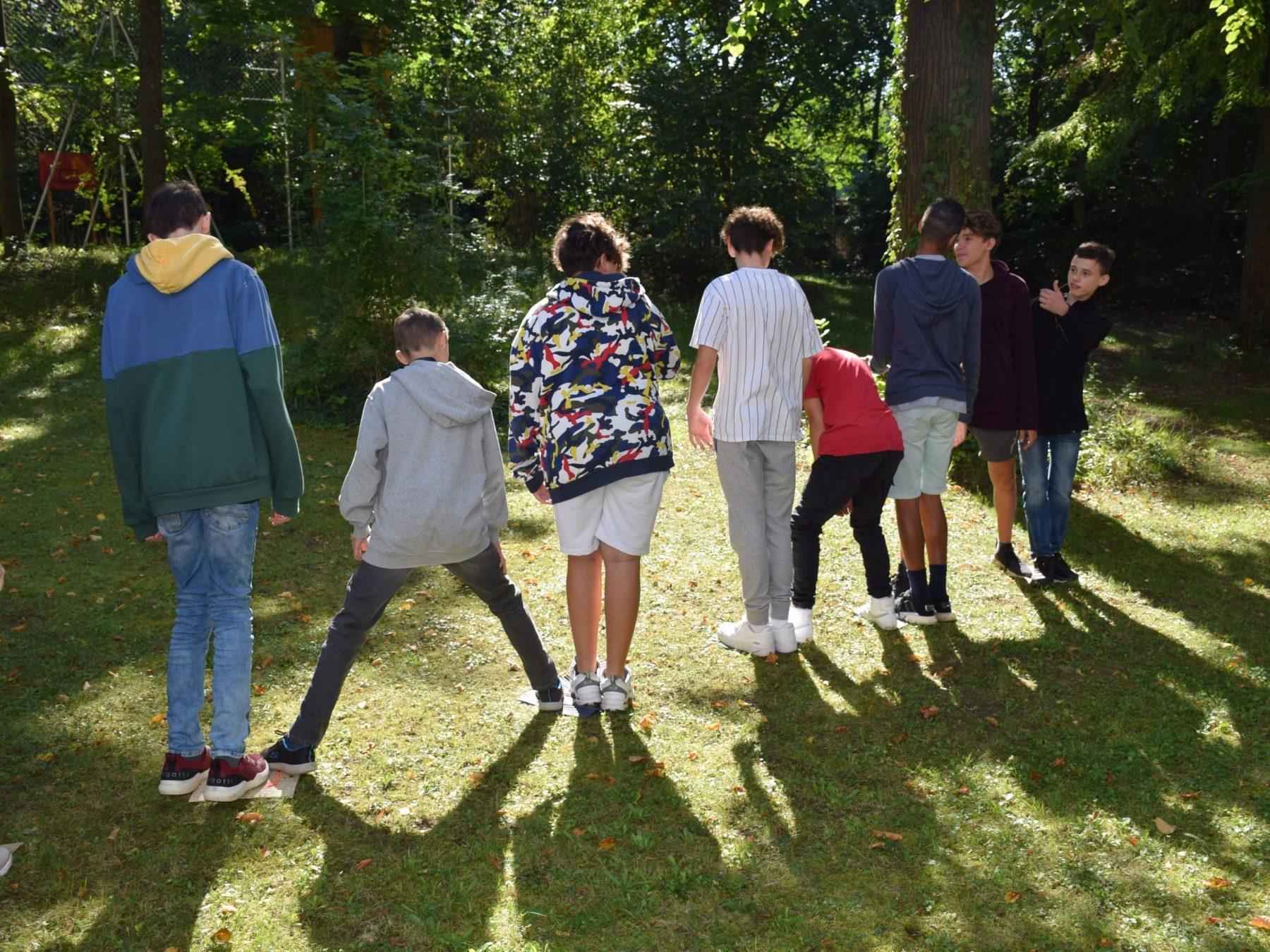 Kennenlerntag Moorpfad Projekttage Projektwochen Schullandwochen Freispiel Doris Poetscher Hasslinger