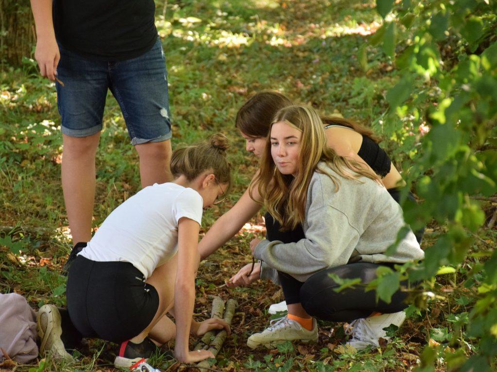 Kennenlerntag Murmelbahn Projekttage Projektwochen Schullandwochen Freispiel Doris Poetscher Hasslinger