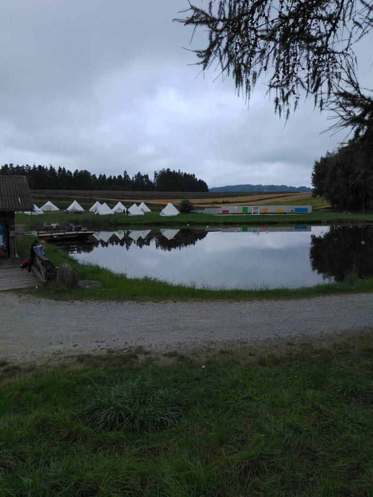 budo teich das bunte dorf sallingstadt zeltcamp sommerferien betreuung waldviertel niederoesterreich