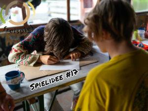 Projektwochen Schulprojektwochen Projekttage Gruppenspiele Niederoesterreich Wien Burgenland budo onlineunterricht unterricht teanwork teambuilding malen Spielidee17