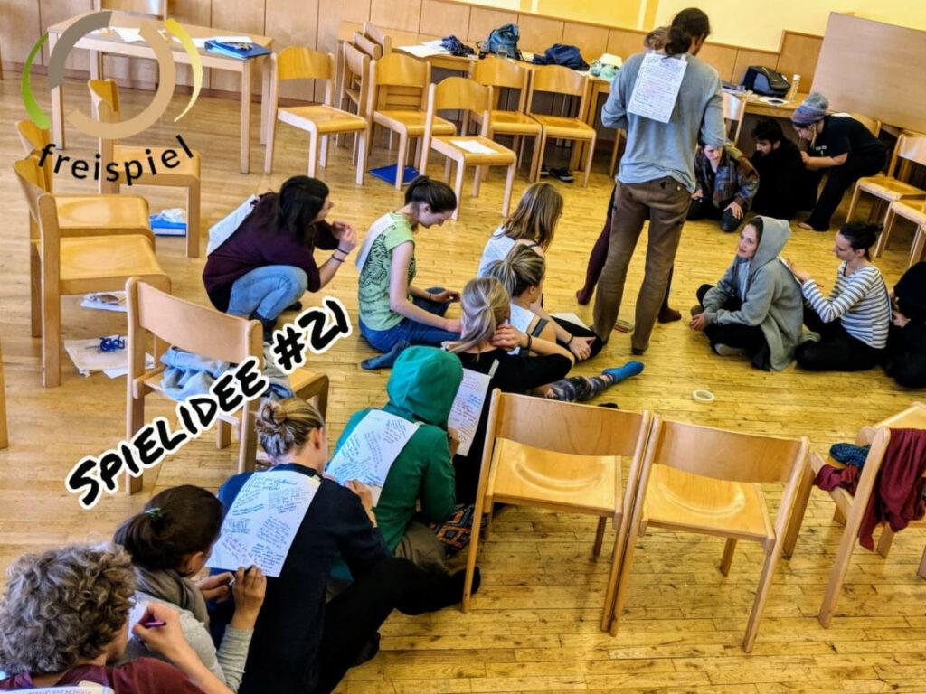 Projektwochen Schulprojektwochen Projekttage Gruppenspiele Niederoesterreich Wien Burgenland budo onlineunterricht unterricht teanwork teambuilding Spielidee21